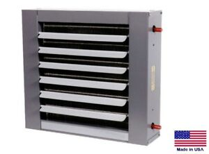 Unit Heater Hot Water Hydronic Commercial industrial 43 600 Btu 900 Cfm