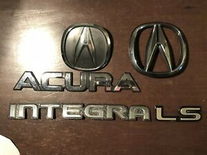 Oem Acura Integra Da Db1 1990 1991 1992 1993 Rear Front Trunk Emblem Oem Used