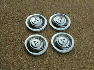 1969 71 Dodge D100 Truck Dog Dish Hubcaps Set 4 Nos A100