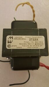 Hammond Manufacturing 272bx Power Transformer