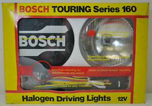 Nos Vintage Bosch Touring 160mm 6 3 Inch Round Driving Lights 23661