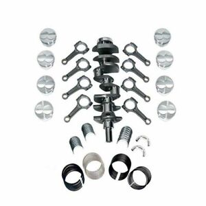 New Forged Scat Rotating Assembly I beam Rods Fits Ford 351 Main 408 1 94306