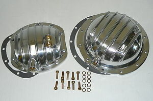 Jeep Cj7 Cj6 Cj8 Polished Front Rear Differential Kit Covers Dana 30 Amc 20