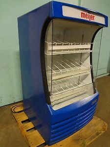 beverage Air Commercial Refrigerated Lighted Open Cold Beverage Merchandiser