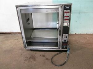 henny Penny Scr 8 H d Commercial Digital 208v 3ph Electric Rotisserie Oven