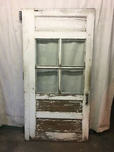 Vintage Salvaged Reclaimed Sliding Carriage Barn Wood Door 45 1 4x90 A