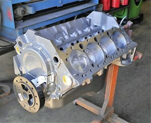 Chevy 383 Stroker Short Block Engine Motor W Eagle Rods