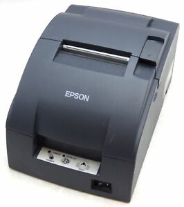 Epson Tm u220b M188b Dot Matrix Pos Receipt Printer Parallel Interface Tested