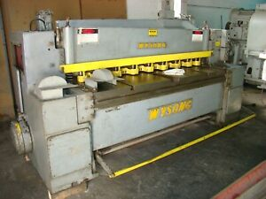 Wysong Model 625 6 X 1 4 Mechanical Shear