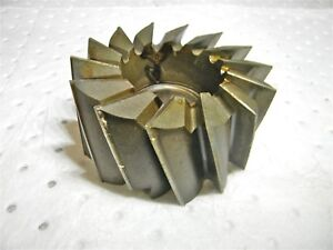 Hss Shell End Mill Finisher 4 1 2 Dia Lh 1 5 Hole 2 25 Loc 0641 511 506104