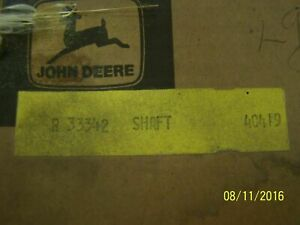 John Deere Parts Pto Shaft 1000 Rpm R33342 4020 sn 200999 3020 sn 12299