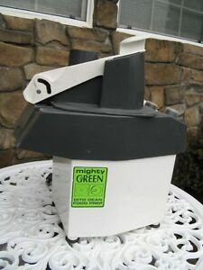 Mighty Green Dito Dean Commercial Food Slicer Processor