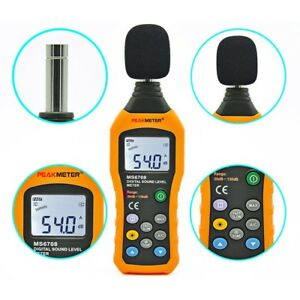 Digital Sound Meter Noise Tester Audio Decibel Db Sound Level Meter Measure