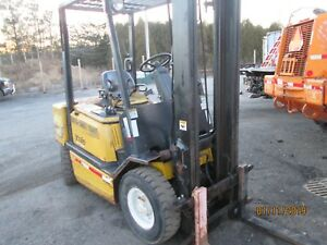 2005 Yale Diesel Fork Lift Model Gdp040050rg
