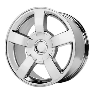 Chevrolet Silverado Ss Style Wheel 20x8 5 22 Chrome 6x139 7 6x5 5 Qty 4