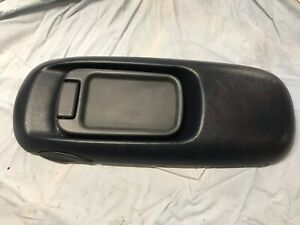 1995 1999 Gmc Suburban Chevy Truck Center Console Blue Lid With Latch