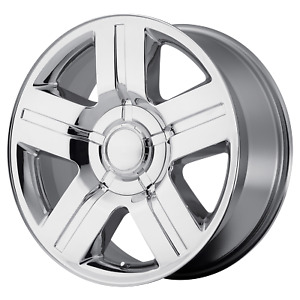 Silverado Texas Edition Style Wheel 22x9 31 Chrome 6x139 7 6x5 5 Qty 1