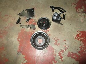 Chevrolet 454 Bracket And Pulley Set