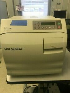 Ritter M9d Autoclave Sterilizer Only 70 Hours Free Shipping Manual Door