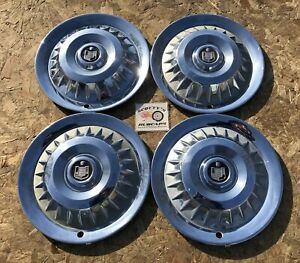 1959 Mercury Montclair Colony Park 14 Wheel Covers Hubcaps Set Of 4