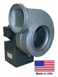 Centrifugal Blower Industrial 7 7 8 Ports 1 4 Hp 230 460v 3 Ph 860 Cfm