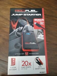 Brand New Sealed Schumacher Red Fuel Portable Jump Starter Battery Booster Sl161