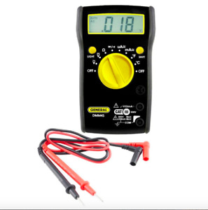 General Tools Auto Range Digital Multi Meter Ac Dc Current Voltage K Tester Tool