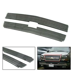Billet Grille Grill For 2003 2005 Chevy Silverado 1500 2500 C65717a