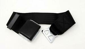 Airplane Seatbelt Extender For Southwest Airlines E4 Safety Certified Black