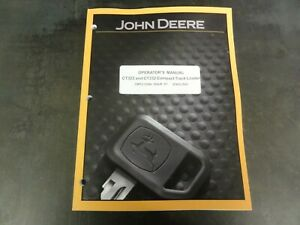 John Deere Ct322 And Ct332 Compact Track Loader Operator s Manual Omt215996