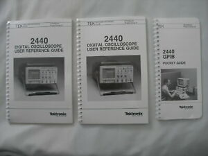 Tektronix 2440 Reference Gpib Pocket Guide P n 070 6602 00 070 6600 00 Lot