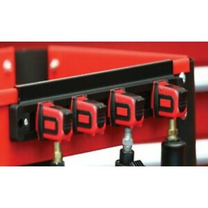 Mechanic s Time Savers Laat4 Lock a air Tool Holder red