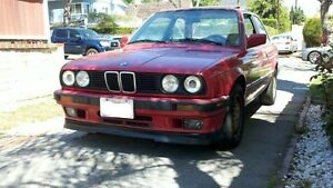 Bmw E30 1988 1992 Front Lip Bumper Kit Lower Valance Is Style 3 series