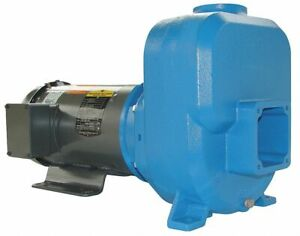 Goulds Water Technology 30sph70 Self Priming Pump 3 Hp Cast Iron