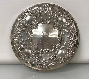 Stunning Towle Sterling Silver Hand Held Mirror