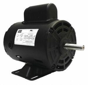 Weg 13488375 Air Compressor Motor 1 Hp Frame 56