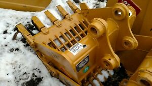 Heavy Duty Cat 303 24 Skeleton Tb135 Excavator Digging Rock Bucket 40mm Pins