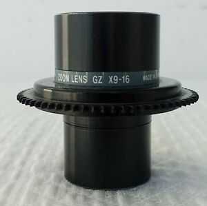 Canon Gz 9 16x Microfilm Zoom Lens Objective Microfiche Scanner Mg1 8122