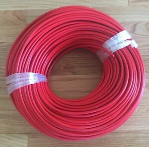 500ft Hv Shielded Tesla Coil Wire 40kv High Voltage Cable 10kv 15kv 20kv 30kv