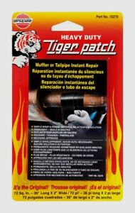 Versachem 36 Tiger Patch Muffler Tailpipe Wrap Instant Repair Adhesive Tape