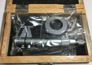 Fowler 52 276 002 Inside Micrometer With Setting Ring 1 2 Range 001