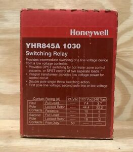 Honeywell Yhr845a1030 Switching Relay W Internal Transformer