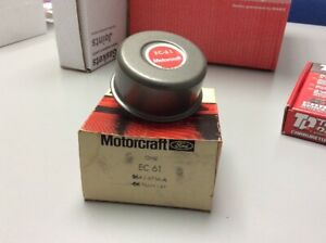 Nos Oem Motorcraft Ford Early Ford Oil Filler Cap Ec61