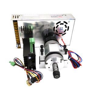 400w 12000rpm Er11 Chuck Cnc Brushless Spindle Motor Driver Speed Control Tool