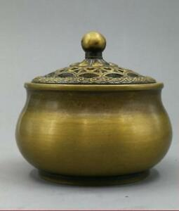 China Antique Bronze Buddhism Aroma Burner Indoor Supplies Incense Burners