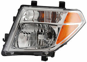 Fits 2005 2007 Nissan Pathfinder Frontier Driver Left Headlight Lamp