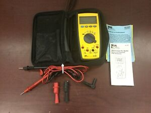 Ideal 61 480 Commercial Contractor Grade Multimeter With Leads