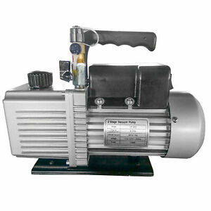 Vacuum Pump 6 Cfm 170l min 2 Dual Stage 1 2hp Vp 260 High Quality