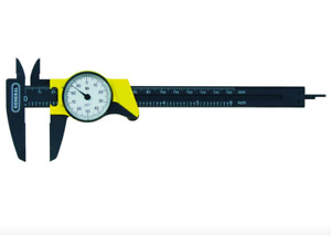 General Tools 6 In Dial Caliper Mm Inch Measurement Inside Outside Step Depth