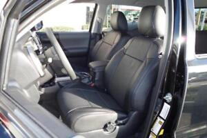 Clazzio Synthetic Leather Seat Covers For 2005 2008 Toyota Tacoma Double Cab